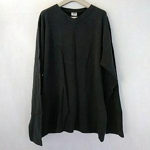 Old Navy gray v neck cotton sweater Medium